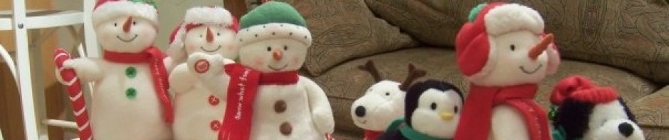 Complete Set Of Hallmark Dancing Snowmen 2003 2013 A Very Atheist