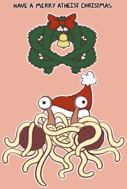 This would make a good Christmas Card | A Very Atheist Christmas
